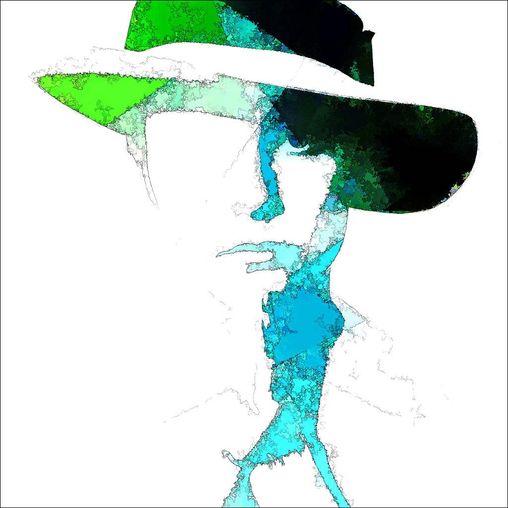 irene with hat II